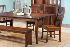 American-Made Hardwood Furniture Living Articles from Country View Woodworking Hardwood Furniture, Living Furniture, Bedroom Furniture, Small Dining Area, Dining Room, Dining Table, Industrial Furniture, American Made, Challenge