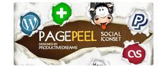 design deck | Page Peel Social Iconset Version 2