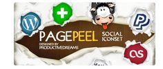 design deck | Page Peel Social Iconset Version 2