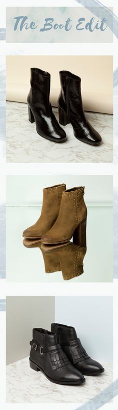 Here's your daily dose of Autumn/Winter ankle boot goals Fall Winter, Autumn, Leather Ankle Boots, All Black Sneakers, Goals, Shoes, Women, Style, Fashion