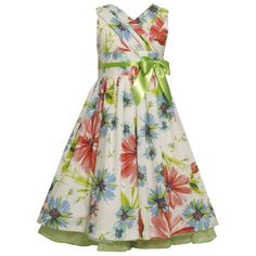 Size-12.5 BNJ-7051R GREEN WHITE MULTI FLORAL PRINT DRAPED-COLLAR Special Occasion Wedding Flower Girl Easter Party Dress,R87051 Bonnie Jean Girl PLUS Bonnie Jean,http://www.amazon.com/dp/B0072Q4X8A/ref=cm_sw_r_pi_dp_hgg9qb0CMZAM47HS
