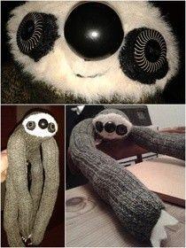 Sock Sloth for Kara