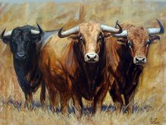 Walter Zuluaga, Tauromaquia Pictórica   El Encanto Oculto De La Vida Bull Pictures, Cowboy Pictures, Cow Skull Art, Cow Art, Brave Animals, Animals And Pets, Bullen, Mexico Art, Cow Painting