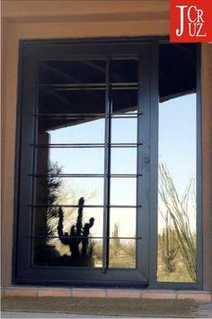 A Modern Windsail Designed Front Door