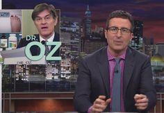 Video: John Oliver Takes On Dr. Oz