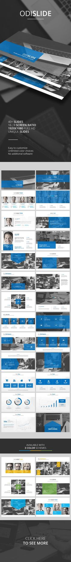 Odislide PowerPoint Template (PowerPoint Templates):