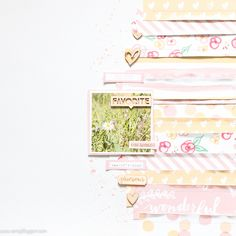 Layout using paper strips + video - Por Veera