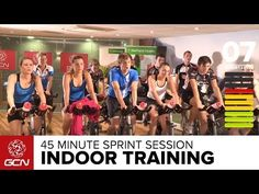 45 Minute Cycle Training Workout - Sprint Training - YouTube commercials in the middle but still a good workout 550 calories