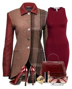 """Tweed Jacket"" by flowerchild805 ❤ liked on Polyvore featuring NLY Trend, Nancy Gonzalez, Chanel, Gucci and Kim Kwang"