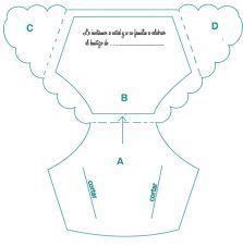 Resultado de imagen para plantillas para recuerdos en forma de pañal de baby shower gratis