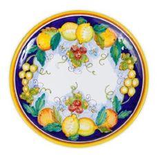 Daphne Italian Ceramic Cake Plate From Deruta