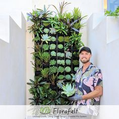 The Florafelt Pro System is a high quality, patented architectural green wall solution that uses Florafelt Grow Strips woven into a stainless steel 304 wire grid. It's the most robust vertical gardening system around, and can handle extreme conditions.