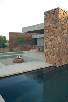 stone house, Pretoria, 2007 by slee & co. architects #architecture #design #house