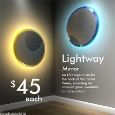 Yaaas Portal Mirrors Fo A Bathroom