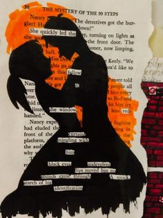 Blackout poem by a student. Use to teach the basics of poetry -- form, structure, word choice.