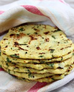 24. Paleo Cauliflower Tortillas #healthy #cauliflower #recipes http://greatist.com/eat/super-surprising-super-delicious-cauliflower-recipes