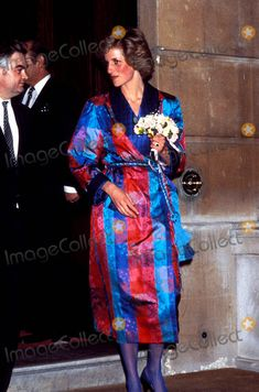 March 19, 1985: Princess Diana at a reception at Lancaster House held for London Fashion Week. by the Waxbitch, via Flickr