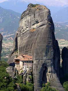 Holy Monastery of Rousanou, Meteora, Greece. Wonderful Places | Amazing Pictures