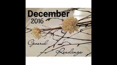 AQUARIUS December 2016 general reading