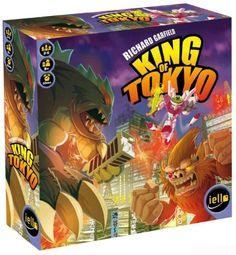 Richard Garfield King of Tokyo Award Winning Board Game NIB First Addition