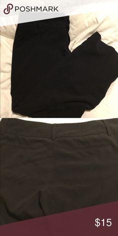 405ed7a73eb Black dress pant Size 14 Lane Bryant wide leg classic black dress pant. Mid  waist