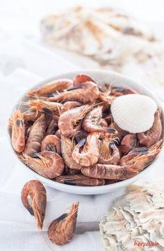 Krabben direkt vom Kutter im Husumer Hafen