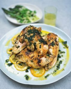Herb marinated chicken food-and-drink