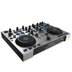 Hercules Dj Rmx 2 Controlador  2 JOG Wheels 8 pads MIDI Conector USB Cross Fader *pregunta disponblidad
