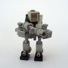 Mechs built from Legos For the game; Mobile Frame Zero. Jᴀɴɪssᴀʀʏ Drone. Designed by: Luke.