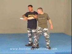 "Moni Aizik Teaches ""The Wiz"" Weapon Disarm Krav Maga Self Defense, Self Defense Moves, Self Defense Martial Arts, Karate, Self Defence Training, Krav Maga Techniques, Israeli Krav Maga, Fight The Power, Wrestling Videos"