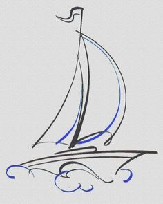 learn how to draw a boat with simple