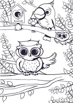 """Owls are majesticcreatures with a mystic allure and today these odd creatures are one of the most loved wild animals, slowly becoming a symbol for peace, calm and intelligence alike. The short adorable tutorial """"Learn How to Draw an Owl """"that follows is the fifth part of ourCool Things to Draw Collectionthat we highly encourageRead more"""