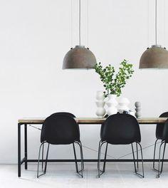 Zwarte stalen keuken van Noorse ontwerper | HOMEASE