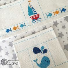 Towels, Cross Stitch, Baby Shower, Recipes, Ideas, Needlepoint, Border Tiles, Dots, Babyshower