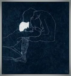 The lovers, Egon Schiele