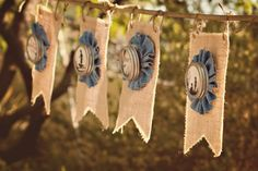 denim and burlap party ideas - Google Search