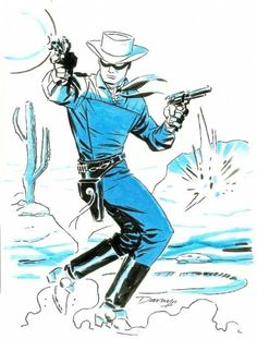 Lone Ranger by Darwyn Cooke