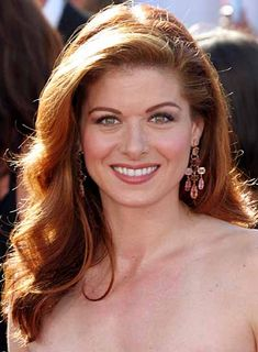 Debra Messing Long, Red, Wavy Hairstyle....LOVE! Can you tell I'm ready to be a redhead again?