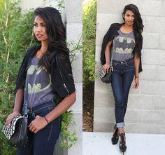 Tiffany Borland - Jack Of All Trades Clothing Batman Shirt - Batman.