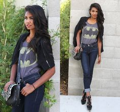 Jack Of All Trades Clothing Batman Shirt - Batman. - Tiffany Borland