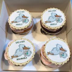 Cupcakes cigüeña. Cupcakes, Desserts, Food, Cookies, Food Cakes, Tailgate Desserts, Cupcake Cakes, Deserts, Essen