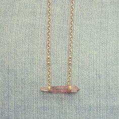 Red Quartz necklace by Marlee Cheyanne Watts  https://www.etsy.com/ca/shop/MarleeCWatts?ref=si_shop