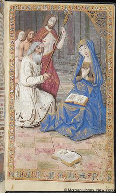 Book of Hours, MS M.7 fol. 20r - Images from Medieval and Renaissance Manuscripts - The Morgan Library & Museum