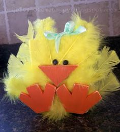 @ Crystal Taylor-- another take on the cute little chick for Spring!