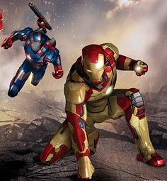 Ironman 3 promo art