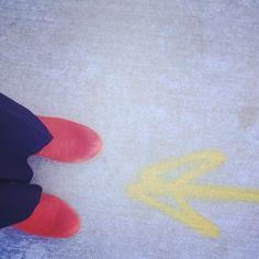 #tik #orange #boots #letswork @studiopragmatik