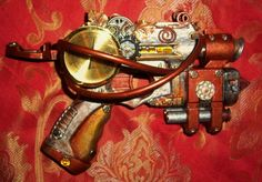 Oh my holy goodness ... Modified Steampunk Nerf Gun made by Friston - FRICKEN AWESOME!!
