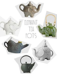 elephant tea pot | 7 ways to wow your guests with a simple cup of hot tea