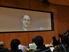 U.S. fugitive and former National Security Agency contractor Edward Snowden said all people in Japan are subjected to mass surveillance initiated by the U.S. government.