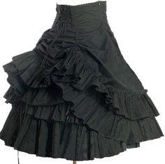 bustle mini skirt